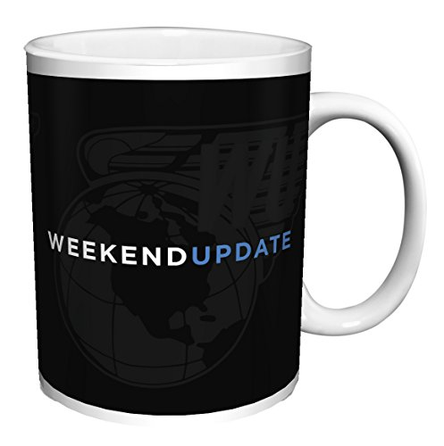 SNL (SATURDAY NIGHT LIVE) WEEKEND UPDATE LOGO TV Television Show Ceramic Gift Coffee (Tea, Cocoa) Mug, By CulturenikOfficially Licensed from NBC/Universal TV. (11 OZ C HANDLE CERAMIC MUG)