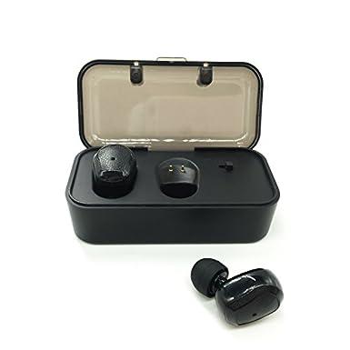 Bluetooth inalámbrico earbuds-tws-s1, sílaba verdaderamente auriculares inalámbricos con carga caja cancelación de ruido estéreo Bluetooth auriculares para ...