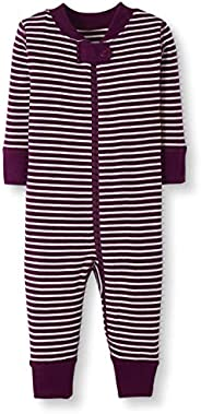 Moon and Back by Hanna Andersson Baby/Toddler Boys' and Girls' One-Piece Organic Cotton Footless