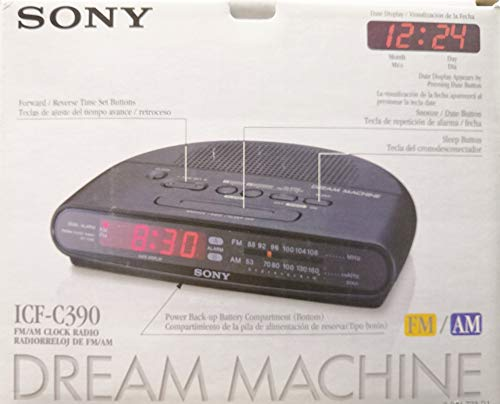 Amazon.com: Sony ICFC390 AM/FM Dual Alarm Clock Radio (Discontinued by Manufacturer): Home Audio & Theater