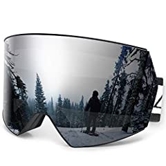 Zacro snowboarding goggles with frameless design, provides a truly unobstructed & clear view, while also featuring a UV protective layer that effectively reduces UV exposure. We always offer a professional outdoor ski goggles, both in ter...