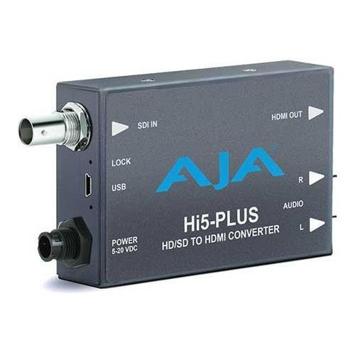 AJA Hi5-Plus 3G-SDI to HDMI Mini Converter ()