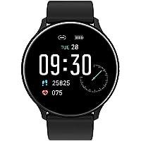 READ Smartwatch Reloj Inteligente Impermeable Hombre Mujer con Contador de Pasos del podómetro del Monitor de frecuencia…