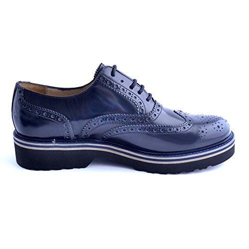 Soldini - Zapatos de cordones para hombre azul turquesa