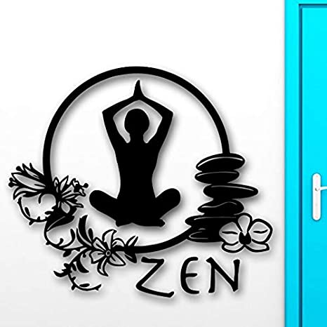 Pegatinas de pared Zen Meditation Yoga Health Wall Decals ...