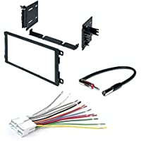CAR CD STEREO RECEIVER DASH INSTALL MOUNTING KIT WIRE HARNESS BUICK CADILLAC CHEVROLET 1992 - 2003