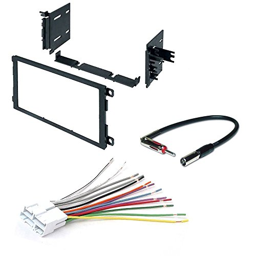 CAR CD Stereo Receiver Dash Install MOUNTING KIT Wire Harness Buick Cadillac Chevrolet 1992-2003