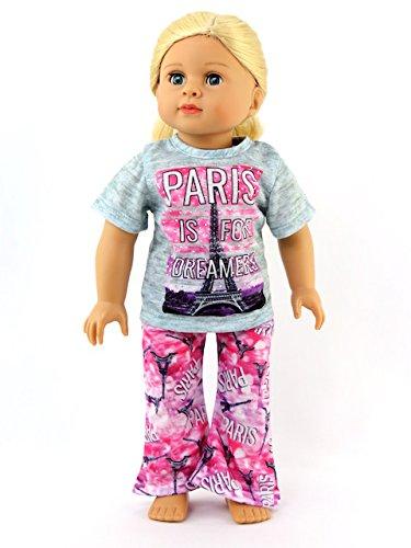 - Paris Pajamas -Fits 18