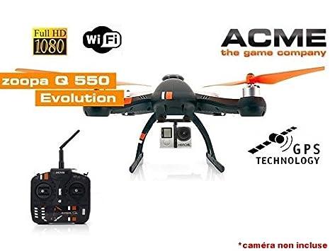 Drone Acme Zoopa Q EVO 550 GPS + portabebés Carbono Anti vibración ...
