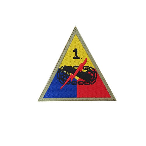 Reproduction World War 2 1st Armored Division (Old Ironsides) Patch ()