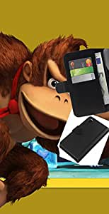 NEECELL GIFT forCITY // Billetera de cuero Caso Cubierta de protección Carcasa / Leather Wallet Case for Sony Xperia Z3 D6603 // Burro Rey