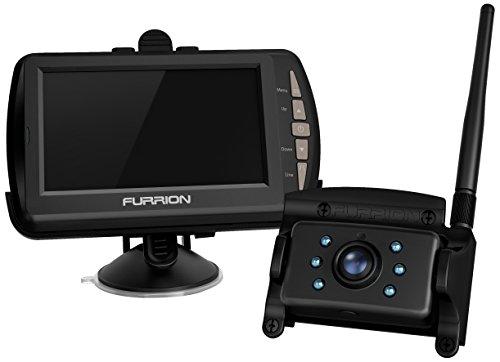 Furrion FRC12TA-BL RV Back-Up Camera System (Camera + (Observation Monitor)