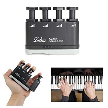 Nueva cebra fa-10p guitarra Piano dedo agarre ejercitador ...