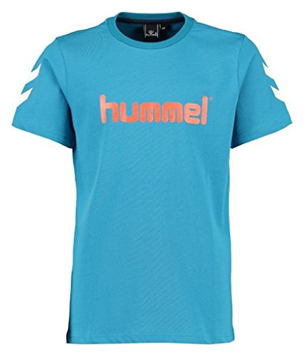 Hummel Jungen Jaki SS Tee AW16 T-Shirt, Seaport, 152