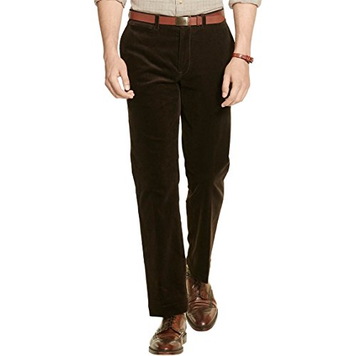 Polo Ralph Lauren Mens Classic Fit Stretch Corduroy Pants Brown - Ralph Lauren Polo Online Outlet