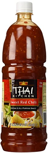 (Thai Kitchen Sweet Red Chili Sauce Plastic Jar)