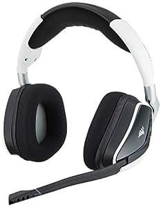 Corsair Gaming CA-9011153-AP Void PRO RGB Wireless Dolby 7.1 Premium Gaming Headset - White