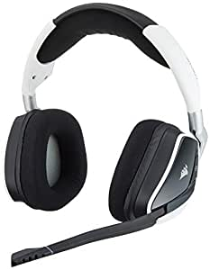 Corsair Gaming CA-9011153-AP Void PRO RGB Wireless Dolby 7.1 Premium Gaming Headset - White
