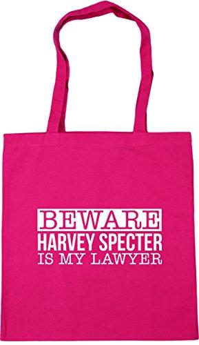 Bag specter harvey Fuchsia my is Gym 10 litres lawyer Beach Beware x38cm Shopping Tote HippoWarehouse 42cm wvqfESnZf