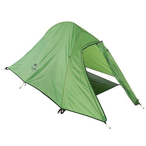 Docooler 1-2 Person Camping Tent Double Layer 3 Season Aluminum Rod Double Skylight OutdoorAluminum Poles Tent
