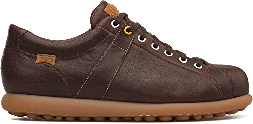 (Camper Men's Pelotas Ariel Oxford Flat, Medium Brown, 42 Standard US Width EU (9 US))
