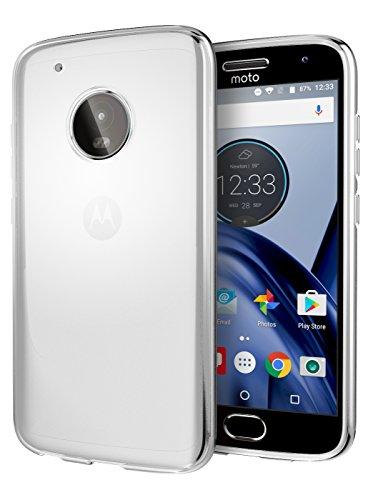 Moto G5 Plus Case, Cimo [Grip] Premium Slim Protective Cover for Motorola Moto G5 Plus (2017) - Clear