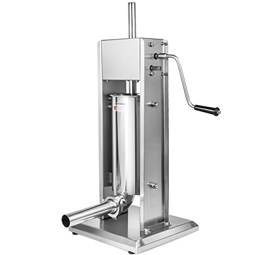XtremepowerUS Sausage Vertical Stuffer, Stainless Steel (12 Pounds) by XtremepowerUS