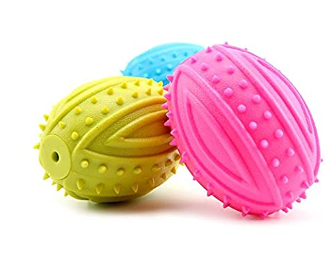BECKY,Set of Mavel Toy For Dogs Puppies,Mine Shape Top Cool TPR Rubber Dog Chew Toy - Best for Aggressive Chewers- Small Medium Large Dogs Breeds Dura Chew Plus Textured,Random - Dura Chew Plus Bone