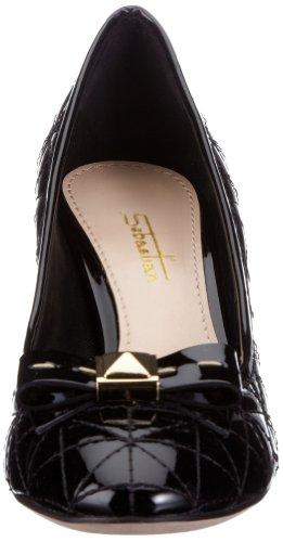 de clásicas Negro tela NAPNUD WOMAN'S Sandalias S5243 mujer Sebastian SHOE para SPp1nx