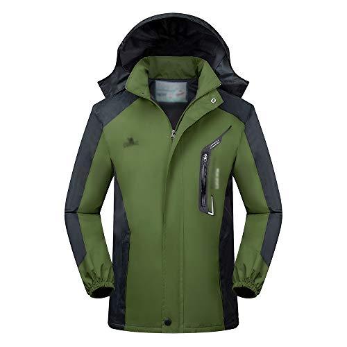 Giacca Caccia Da Impermeabile Trekking Xfentech Uomo Campeggio Pesca Verde Abbigliamento Lavoro FSHqWCxwd