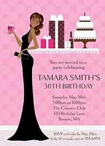 Amazon.com: Diva cumpleaños invitación: Health & Personal Care