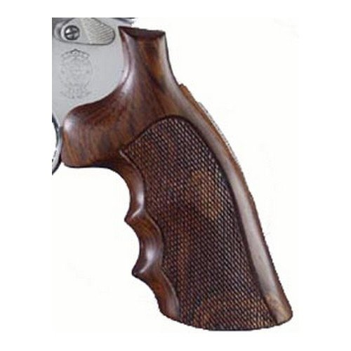Hogue 58801 Dan Wesson Grip, Large, Coco Bolo, Checkered
