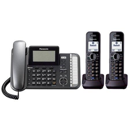 Panasonic KX-TG9582B 2 Line Corded/ Cordless Phone w/ 60 Min