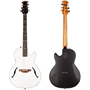 ovation usa signature ym68 6p acoustic electric guitar white musical instruments. Black Bedroom Furniture Sets. Home Design Ideas