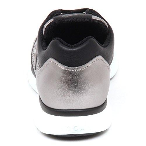 Hogan E3074 Sneaker Uomo Grey/Black H254 Scarpe H 3D Shoe Man Grigio/Nero