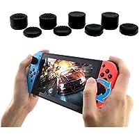 8 Pieces Silicone Thumb Stick Grip Joystick Cap Cover for Nintendo Switch Joy-Con