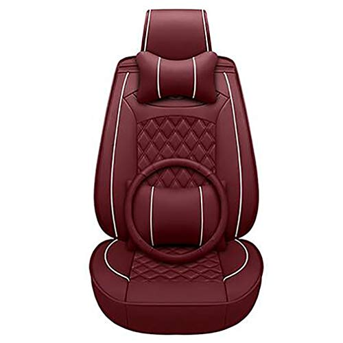PU leather seat cover for 98% of seats, red: