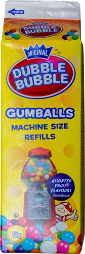 Dubble Bubble Gumball Recambio (4 x 454 g)