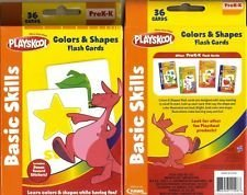 Playskool Colors and Shapes 36 Flash Cards