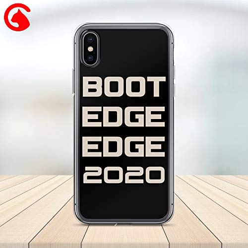 CatixCases Boot Edge Edge Phone Case Mayor Pete Buttigieg 2020 Cell Plastic Сlear Case for Apple iPhone X/XS/XR/XS Max / 7/8 / plus iPhone 6 / 6S plus Protector Protective Cover Art Design