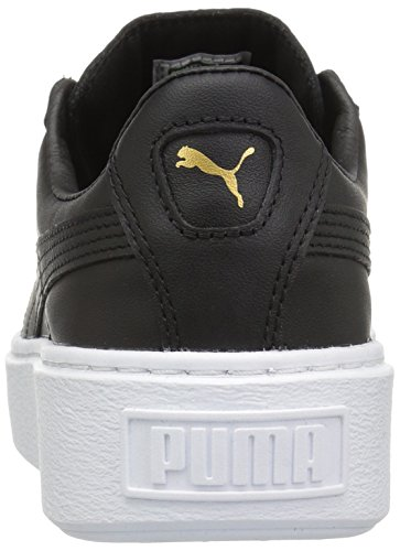 Puma Kvinders Kurv Platform Kerne Mode Sneaker Puma Sort-guld svhSkUEkZ