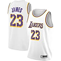Basketball James Los Angeles Lakers Jersey with Shorts White