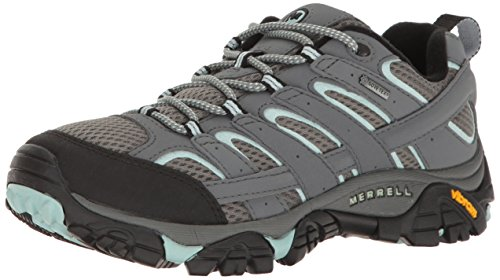 Merrell Women's Moab 2 GTX Hiking Shoe, Sedona Sage, 10.5 M US by Merrell