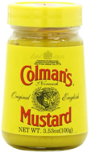 Colman's Prepared Mustard Jar 3.5oz