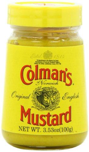 Prepared Mustard - Colman's Prepared Mustard Jar 3.5oz