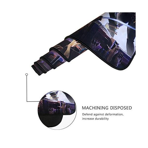 TEMOR Alfombrilla de ratón Grande Alfombrilla Gaming ratón láser, óptico XXL 900x400mm, Lavable, Base de Caucho para… 6