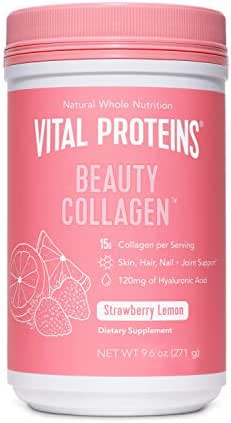Vital Proteins Beauty Collagen (Strawberry Lemon, Canister)