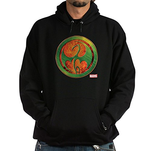 CafePress Iron Fist Grunge Icon Pullover Hoodie, Classic & Comfortable Hooded Sweatshirt Black
