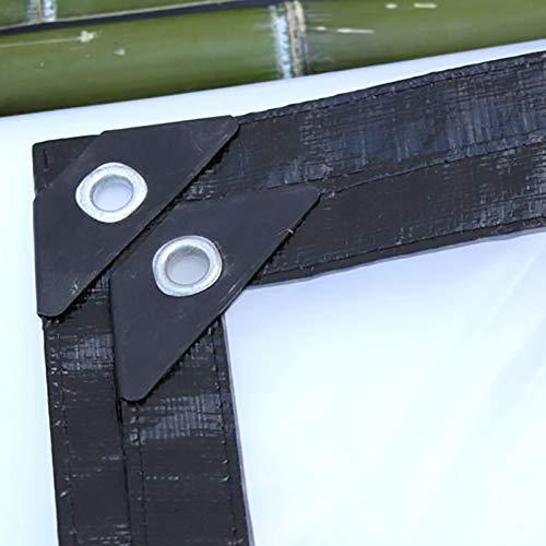 WYDM Teloni Trasparenti a Prova di Pioggia Piante da da da Serra Tende da Sole Telone da Esterno in plastica per Tende da Sole (Dimensioni   5m×5m) 565daf