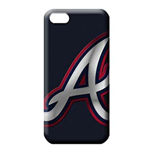 iphone 5 5s covers Snap pattern phone carrying skins atlanta braves